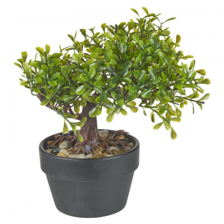 Bonsai artificial 19 cm verde deschis6