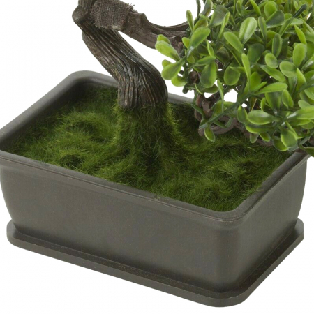 Bonsai artificial 23cm verde deschis9