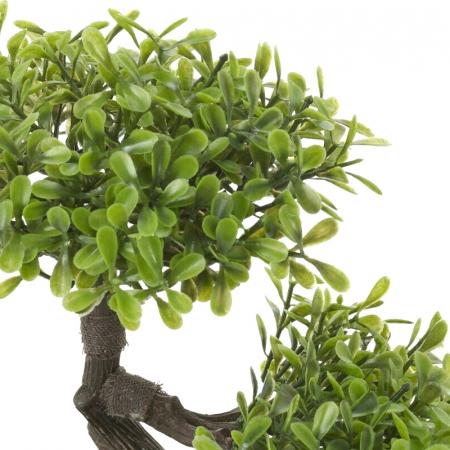 Bonsai artificial 23cm verde deschis7