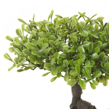 Bonsai artificial 23cm verde deschis6