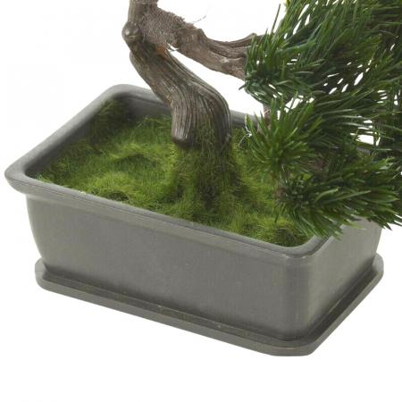Bonsai artificial 23cm verde inchis tip pin8