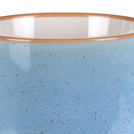 Cana portelan bleu 340 ml Diametru 8.5 cm Inaltime 10 cm [4]