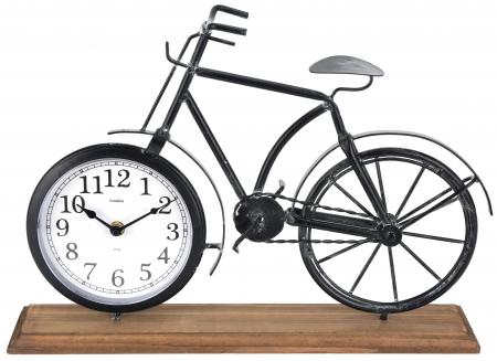 Ceas metal model bicicleta 41,5 X 10 X 29 cm3