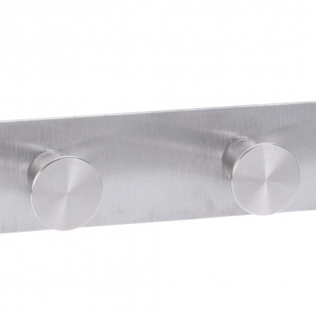 Cuier tip Umeras, pentru usa, cu 6 carlige, 39.5cm x 11cm x 3.5cm, Inox5