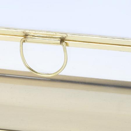 Cutie de Bijuterii clasica, Alama antichizat, sticla transparenta, metal auriu, 30x10x6,5cm1