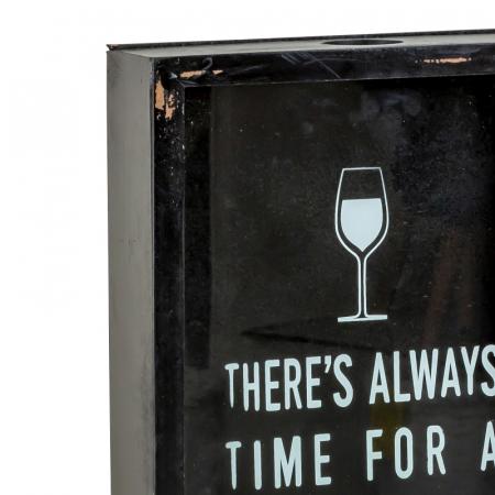 Cutie decor, pentru dopuri de Sticla Vin, 45x21 cm5
