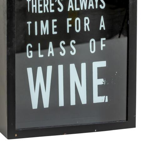 Cutie decor, pentru dopuri de Sticla Vin, 45x21 cm3