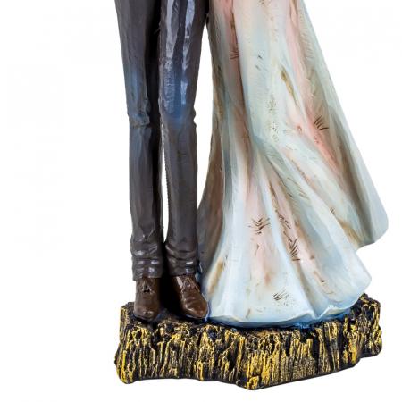 Decoratiune ceramica, model cuplu indragostit, 27x12 cm3