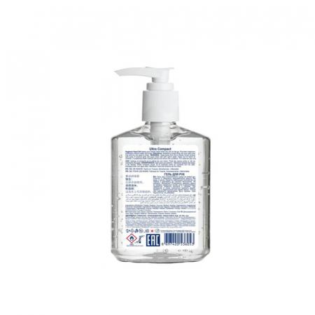 Gel Antibacterian, 250 ml, dezinfectant, igienizant pentru maini, Ultra Compact Hygienic2