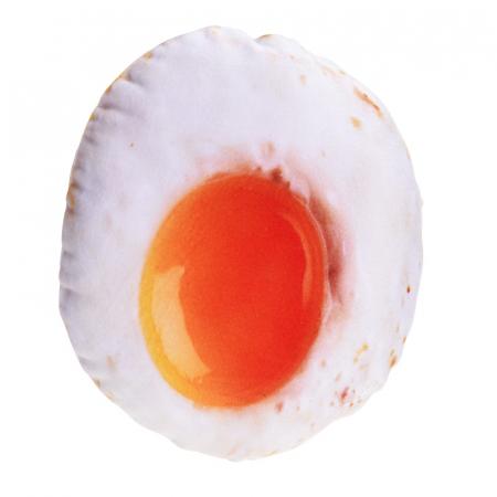 Jucarie textil pentru catei cu sunet model ou ochi0