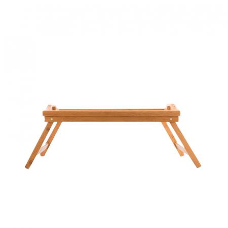 Masa servire in pat, din Banbus, cu picioare pliabile, Nago, 50 x 30 x 21 cm [2]
