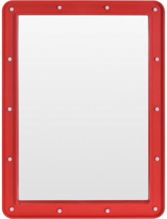 Oglinda cosmetica cu 14 leduri, rama de plastic Rosie, 70x50x3.5cm0