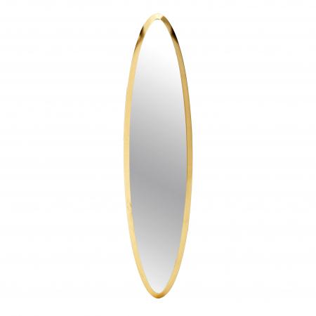 Oglinda rama Lemn, culoare Aurie, 18x71 cm [0]