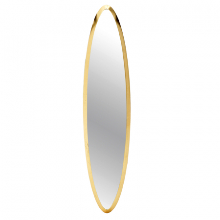 Oglinda rama Lemn, culoare Aurie, 18x71 cm [2]