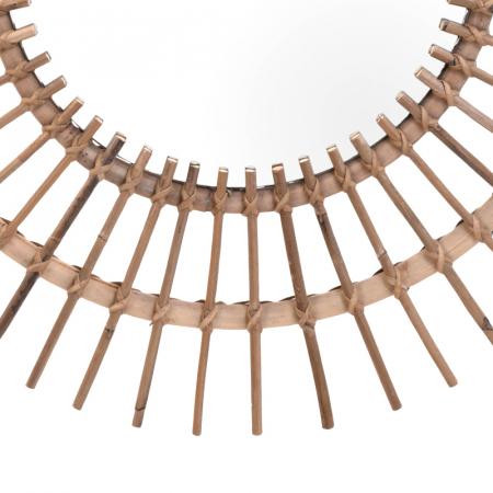 Oglinda rama ratan kubu, Diametru 90 cm, Maro, G 2.5 kg7