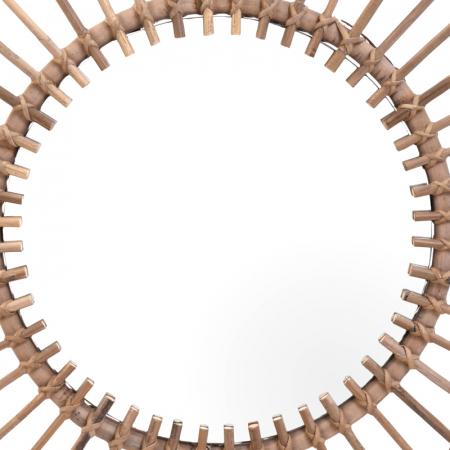 Oglinda rama ratan kubu, Diametru 90 cm, Maro, G 2.5 kg6
