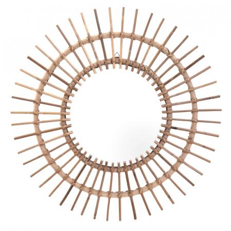 Oglinda rama ratan kubu, Diametru 90 cm, Maro, G 2.5 kg8