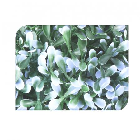 Planta artificiala verde cu mov deschis 20cm in ghiveci [1]