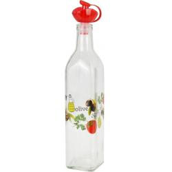 Recipient pentru ulei sau otet, 500 ml, capac Rosu [2]