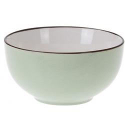 Bol de portelan, culoare verde, 7 cm1