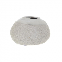 Vaza ceramica 10 cm culoarea fildes0