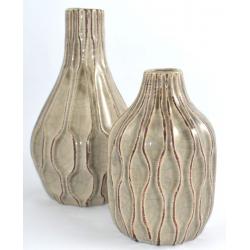 Vaza ceramica 18cm maro1