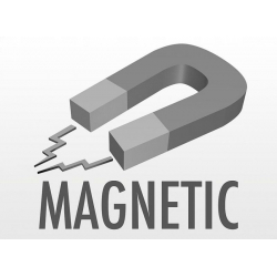 Clepsidra magnetica 6x15 cm pe suport lemn3