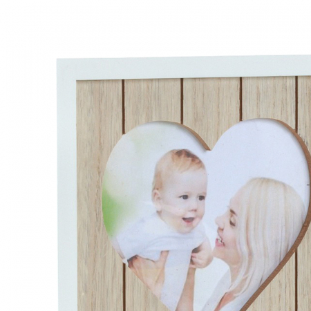 Rama foto lemn pentru 12 poze dimensiune 25x40.5 cm3