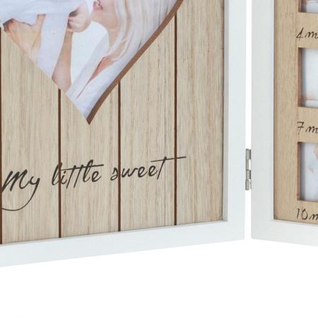 Rama foto lemn pentru 12 poze dimensiune 25x40.5 cm7