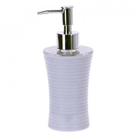 Recipient sapun lichid, culoare alba, Dim 18x7cm polistiren G 86g0