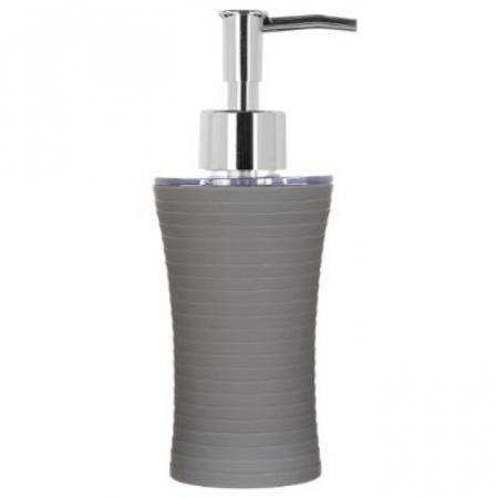 Recipient sapun lichid, culoare gri deschis, Dim 18x7cm polistiren G86 g [1]