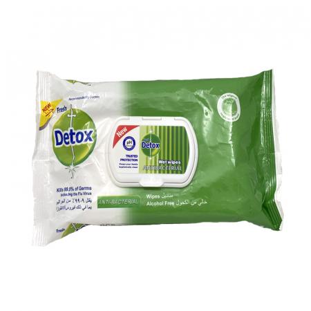 Servetele Igenizante, Detox, Verde, 80 buc [2]