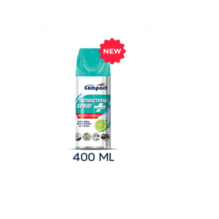 Spray Antibacterian, Lime, Ultra Compact, 400 ml4