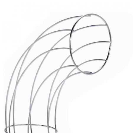 Cos din melat cromat, pentru organizarea Portocalelor, 44cm x 31cm x 11 cm3