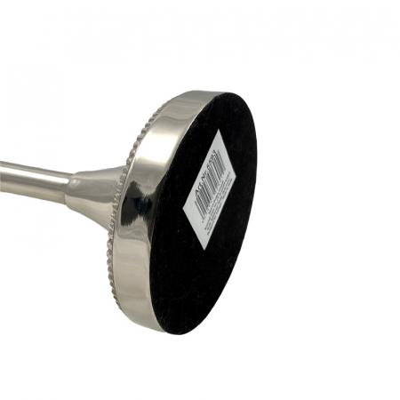 Suport lumanare, din metal, Argintiu, 31 cm [4]