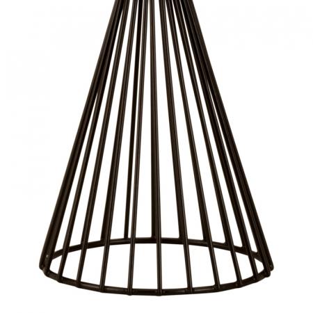 Suport lumanare din metal culoare neagra 22,5 cm [3]