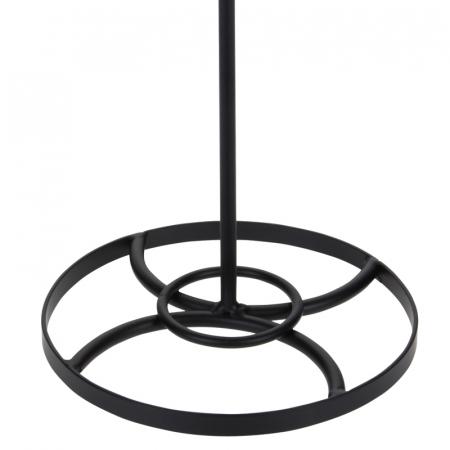 Suport metal pentru rola hartie pentru bucatarie inaltime 35 cm diametru baza 16cm [4]