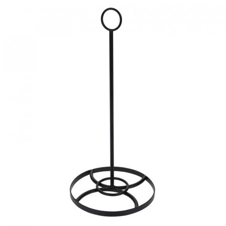 Suport metal pentru rola hartie pentru bucatarie inaltime 35 cm diametru baza 16cm [0]