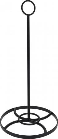 Suport metal pentru rola hartie pentru bucatarie inaltime 35 cm diametru baza 16cm [1]