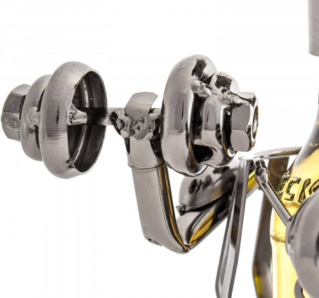 Suport metal pentru sticla bere bodybuilder H 26 cm1