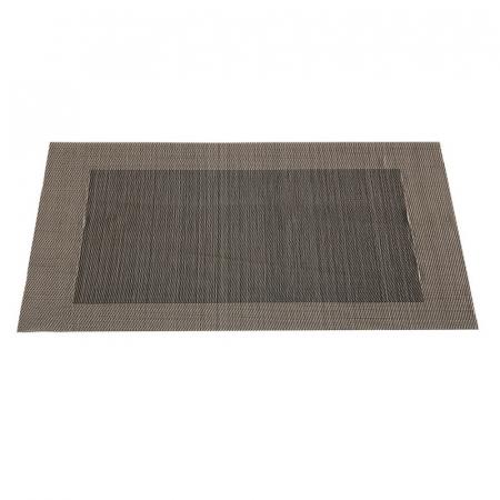 Table mat negru cu auriu1