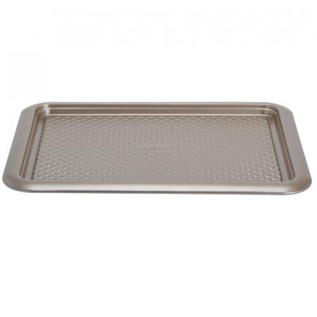 Tava cuptor otel inoxidabil, 37X28X1.6 cm, 600 ml, culoare Bej [5]