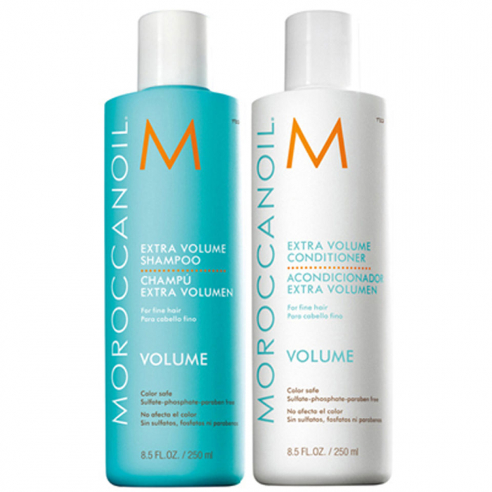 Pachet Moroccanoil Extra volum - sampon si balsam, Volume Shampoo & Conditioner Duo 0