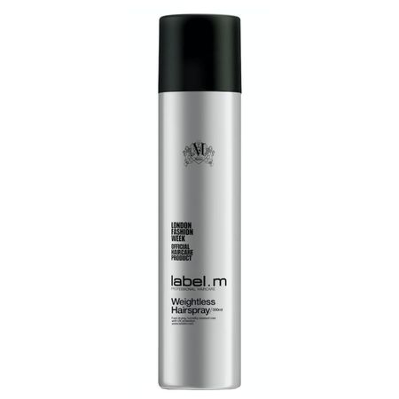 Fixativ ce nu ingreuneaza firul de par Label M, Weightless Hairspray 300ml 0