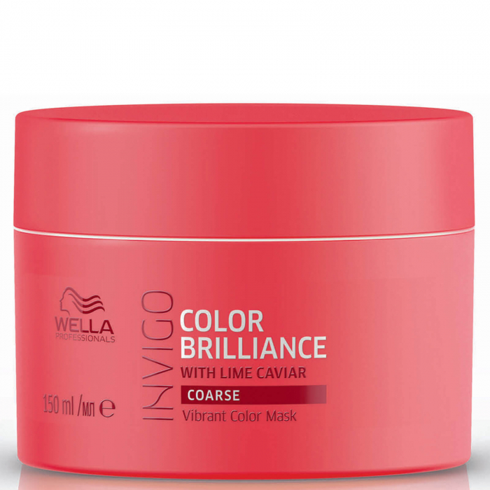 Masca de par Wella Invigo Color Brilliance fir gros 150ml 0