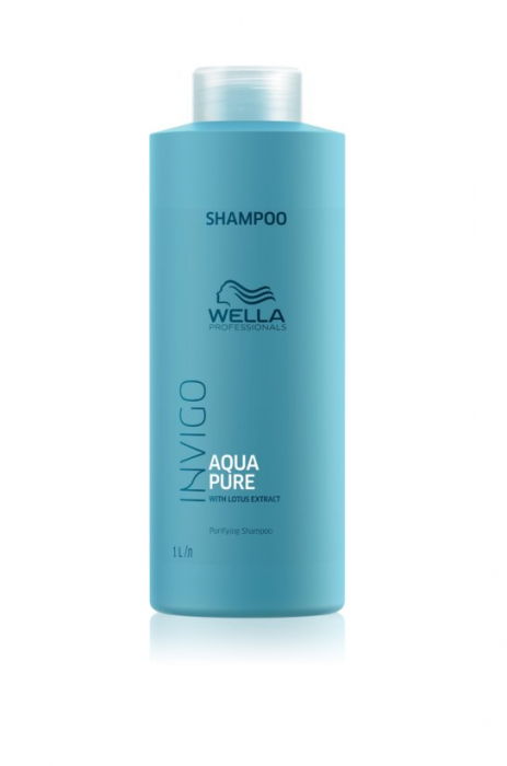 Sampon Wella INVIGO AQUA PURE SHAMPOO 1000ML 0
