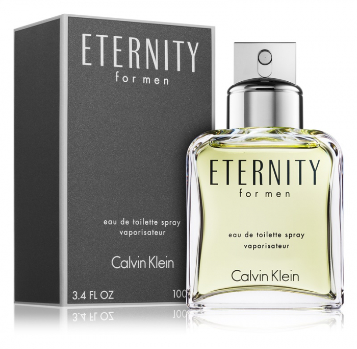 Eternity for Men, Barbati, Eau De Toilette, 100 ml 1