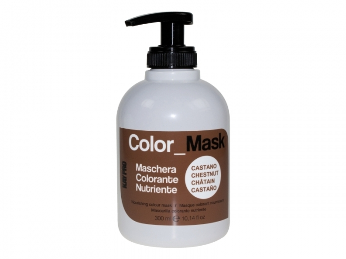 Masca de par coloranta - Color Mask iColor- Chestnut  iColor  300ml 0