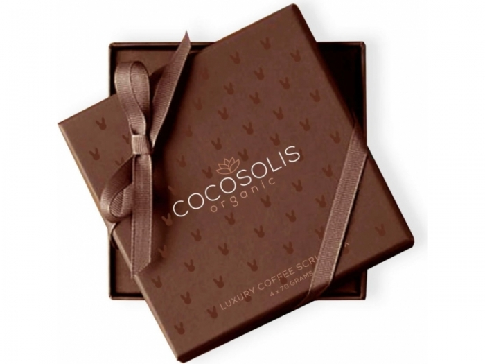 NOU! Cocosolis Luxury Coffee Scrub Box 1