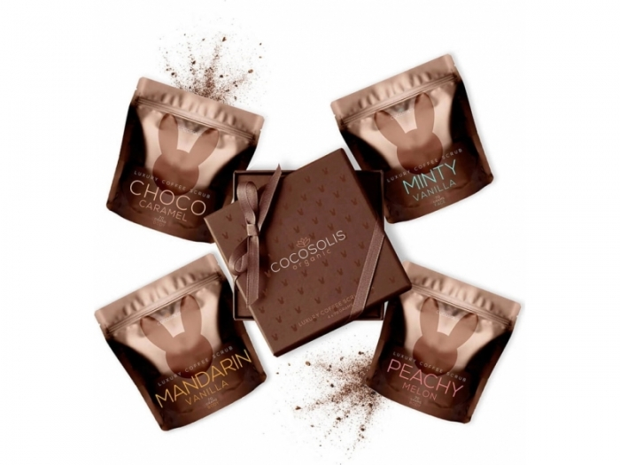 NOU! Cocosolis Luxury Coffee Scrub Box 0